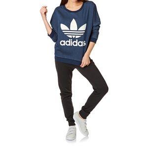 Adidas Originals Trefoil Denim Sweatshirt